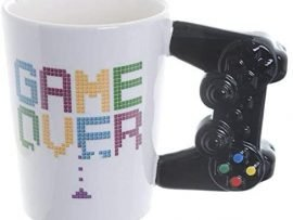 taza Game Over mando de consola original